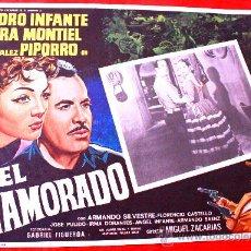 Cine: EL ENAMORADO 1952 (LOBBY CARD ORIGINAL) SARA MONTIEL - PEDRO INFANTE. Lote 27128385