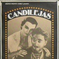 Cine: E493 CANDILEJAS CHARLES CHAPLIN LIMELIGHT POSTER ORIGINAL 70X100 D. Lote 27148098