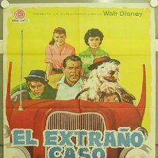 Cine: OE07 EL EXTRAÑO CASO DE WILBY FRED MACMURRAY DISNEY POSTER ORIGINAL ESPAÑOL 70X100 ESTRENO. Lote 27168304