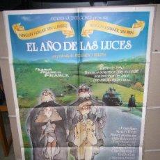 Cine: EL AÑO DE LAS LUCES FERNANDO TRUEBA JORGE SANZ MARIBEL VERDU POSTER ORIGINAL 70X100. Lote 27241583