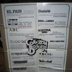 Cine: EL CORAZON DEL BOSQUE GUTIERREZ ARAGON ANGELA MOLINA POSTER ORIGINAL 70X100. Lote 27270804