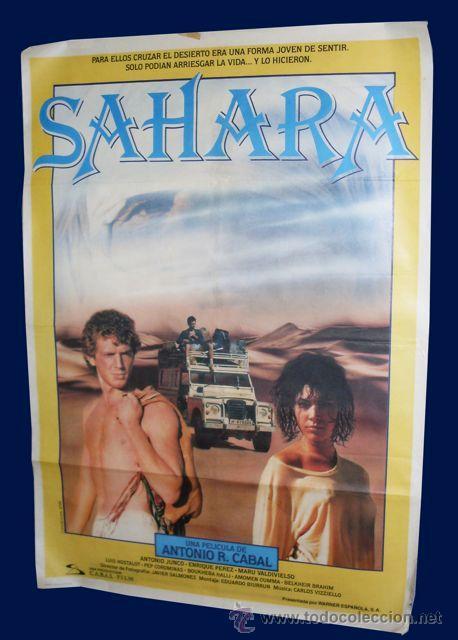 CARTEL SAHARA - 1M X 70 CM (Cine - Posters y Carteles - Clasico Español)
