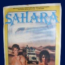 Cine: CARTEL SAHARA - 1M X 70 CM. Lote 27289615
