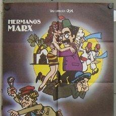 Cine: OF82 UNA NOCHE EN CASABLANCA HERMANOS MARX POSTER ORIGINAL 70X100 ESPAÑOL. Lote 27309915