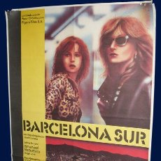 Cine: BARCELONA SUR - CARTEL - 69X77CM - 1981. Lote 27314952