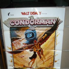 Cine: CONDORMAN WALT DISNEY MICHAEL CRAWFORD OLIVER REED POSTER ORIGINAL 70X100 Q. Lote 103765938