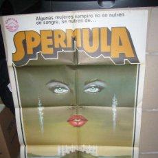 Cine: SPERMULA CLASIFICADA S POSTER ORIGINAL 70X100. Lote 27403470