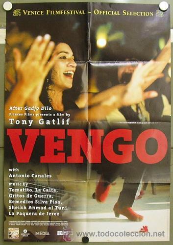 OG30 VENGO ANTONIO CANALES POSTER ORIGINAL BELGA 70X100 (Cine - Posters y Carteles - Clasico Español)