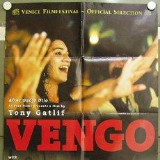 Cine: OG30 VENGO ANTONIO CANALES POSTER ORIGINAL BELGA 70X100. Lote 27496921