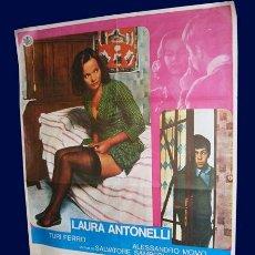 Cine: MALIZIA - CARTEL - LAURA ANTONELLI. Lote 27517442