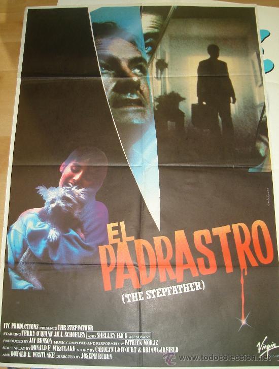CARTEL DE LA PELICULA EL PADRASTRO (Cine - Posters y Carteles - Suspense)