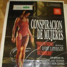 Cine: CARTEL DE LA PELICULA CONSPIRACION DE MUJERES. Lote 27551112