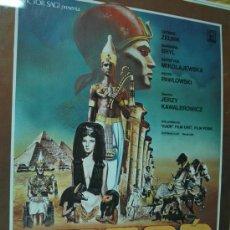 Cinema - farao faraon poster cartel original kawalerowicz rareza en catalan Pharaoh egipto - 27606716