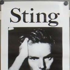 Cine: E588B STING NOTHING LIKE THE SUN POSTER 50X100. Lote 146174257