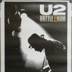 Cine: E653 U2 RATTLE AND HUM LOTE DE 20 POSTERS 70X100. Lote 27805227