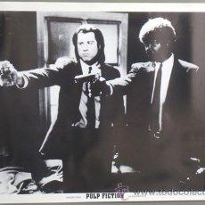 Cine: E669 PULP FICTION JOHN TRAVOLTA SAMUEL L JACKSON TARANTINO LOTE DE 10 POSTERS 70X100. Lote 206879018