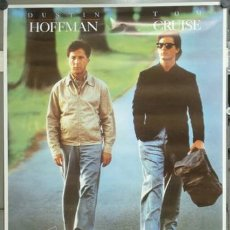 Cine: E698 RAIN MAN TOM CRUISE DUSTIN HOFFMAN POSTER 70X100. Lote 126899507