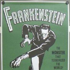 Cinema: E716 FRANKENSTEIN BORIS KARLOFF JAMES WHALE POSTER 70X100. Lote 206817011