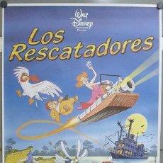 Cine: E737 LOS RESCATADORES WALT DISNEY LOTE DE 20 POSTERS ORIGINALES ESPAÑOL 70X100. Lote 27821318