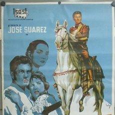 Cine: E738 DIEGO CORRIENTES ISASI JOSE SUAREZ POSTER DE SOLIGO ORIGINAL 70X100. Lote 27821372