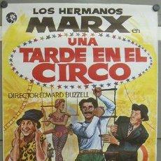 Cine: E769 UNA TARDE EN EL CIRCO HERMANOS MARX POSTER ORIGINAL 70X100 ESPAÑOL. Lote 27830024