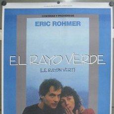 Cine: E789 EL RAYO VERDE ERIC ROHMER POSTER ORIGINAL 70X100 DE ESTRENO. Lote 186798457