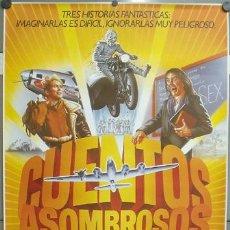 Cine: E850 CUENTOS ASOMBROSOS STEVEN SPIELBERG POSTER ORIGINAL 70X100 ESTRENO. Lote 151464021