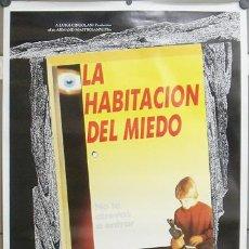 Cine: E871 LA HABITACION DEL MIEDO LOTE DE 5 POSTERS ORIGINAL 70X100 ESTRENO. Lote 27864767