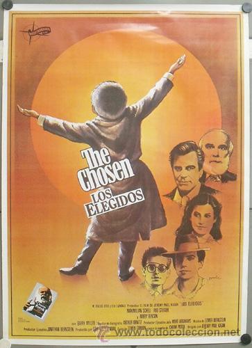 E876 LOS ELEGIDOS MAXIMILIAN SCHELL ROD STEIGER ROBBY BENSON POSTER ORIGINAL 70X100 ESTRENO (Cine- Posters y Carteles - Drama)