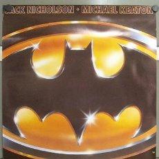 Cine: E996 BATMAN TIM BURTON MICHAEL KEATON JACK NICHOLSON POSTER 70X100. Lote 147992564