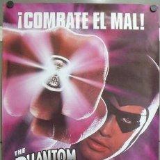 Cine: E1054 THE PHANTOM EL HOMBRE ENMASCARADO BILLY ZANE POSTER ORIGINAL 70X100 ESTRENO. Lote 27895193