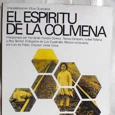 Cine: EL ESPIRITU DE LA COLMENA. Lote 179199946