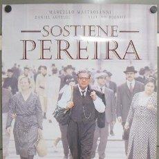 Cine: E1064 SOSTIENE PEREIRA MARCELLO MASTROIANNI POSTER ORIGINAL 70X100 ESTRENO. Lote 146174166