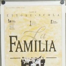 Cine: E1108 LA FAMILIA ETTORE SCOLA POSTER ORIGINAL 50X70 ESTRENO. Lote 27904998