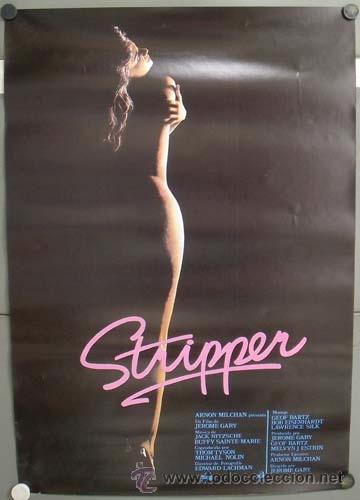 E1215 STRIPPER SARA COSTA LOTE DE 10 POSTERS ORIGINAL 70X100 ESTRENO (Cine - Posters y Carteles - Documentales)