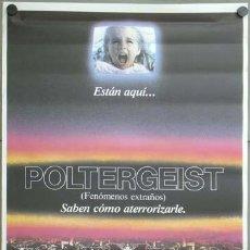 Cine: E1338 POLTERGEIST TOBE HOOPER STEVEN SPIELBERG POSTER ORIGINAL 70X100 ESTRENO. Lote 45906867