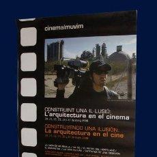 Cine: CARTEL CINEMALMUVIM - LA ARQUITECTURA EN EL CINE - 2008. Lote 28353117