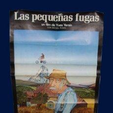 Cine: CARTEL LAS PEQUEÑAS FUGAS ( LES PETITES FUGUES ) - DE YVES YERSIN - 1979 . Lote 28353260