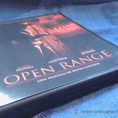Cine: OPEN RANGE. DVD DE LA EXCELENTE PELICULA DE ROBERT DUVALL, KEVIN COSTNER Y ANNETTE BENING.. Lote 28482141