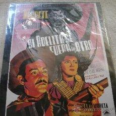 Cine: CARTEL DE MADERA, SI ADELITA SE FUERA CON OTRO ...... - 31,5 X 20,5 CM / EMBALADO T A ESTRENAR !!!!. Lote 28557424