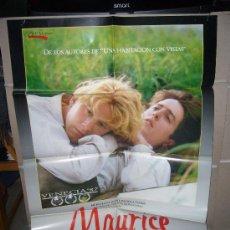 Cine: MAURICE JAMES WILBY HUGH GRANT JAMES IVORY CULT GAY POSTER ORIGINAL 70X100 Q. Lote 28581579