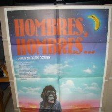 Cine: HOMBRES HOMBRES DORIS DÖRRIE POSTER ORIGINAL 70X100 Q. Lote 28593199