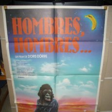 Cine: HOMBRES HOMBRES DORIS DÖRRIE POSTER ORIGINAL 70X100. Lote 28593221