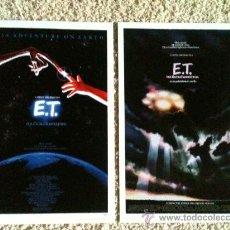 Cine: STEVEN SPIELBERG E.T. 3 POSTER REPRODUCCIONES UNIVERSAL. Lote 28595805