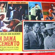 Cine: LA MUJER DE CEMENTO 1968 (LOBBY CARD ORIGINAL) FRANK SINATRA RAQUEL WELCH. Lote 28604238