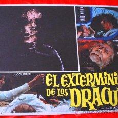 Cine: LA SAGA DE LOS DRACULA (LOBBY CARD ORIGINAL) TERROR ESPAÑOL DE CULTO LEON KLIMOVSKY. Lote 28604547