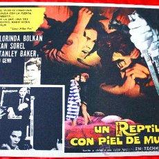 Cine: UNA LAGARTIJA CON PIEL DE MUJER 1971 (LOBBY CARD ORIGINAL) GIALLO DE CULTO DE LUCIO FULCI. Lote 28606060
