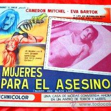 Cine: SEIS MUJERES PARA EL ASESINO 1964 (LOBBY CARD ORIGINAL) GIALLO DE CULTO DEL GRAN MAESTRO MARIO BAVA. Lote 28625396