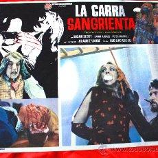Cine: LA MUERTE ACARICIA A MEDIANOCHE 1972 (LOBBY CARD ORIGINAL) GIALLO DE CULTO LUCIANO ERCOLI. Lote 28625622