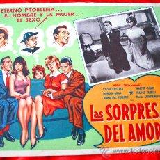Cine: LAS SORPRESAS DEL AMOR 1959 (LOBBY CARD ORIGINAL) SYLVA KOSCINA WALTER CHIARI DORIAN GRAY. Lote 28626367